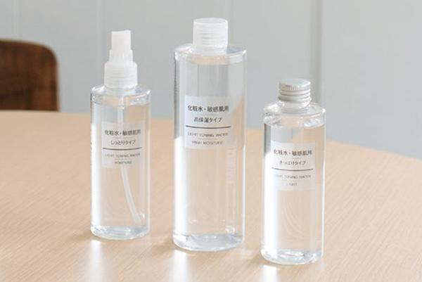 無印良品の化粧水4選!肌質で選べる話題の敏感肌シリーズ
