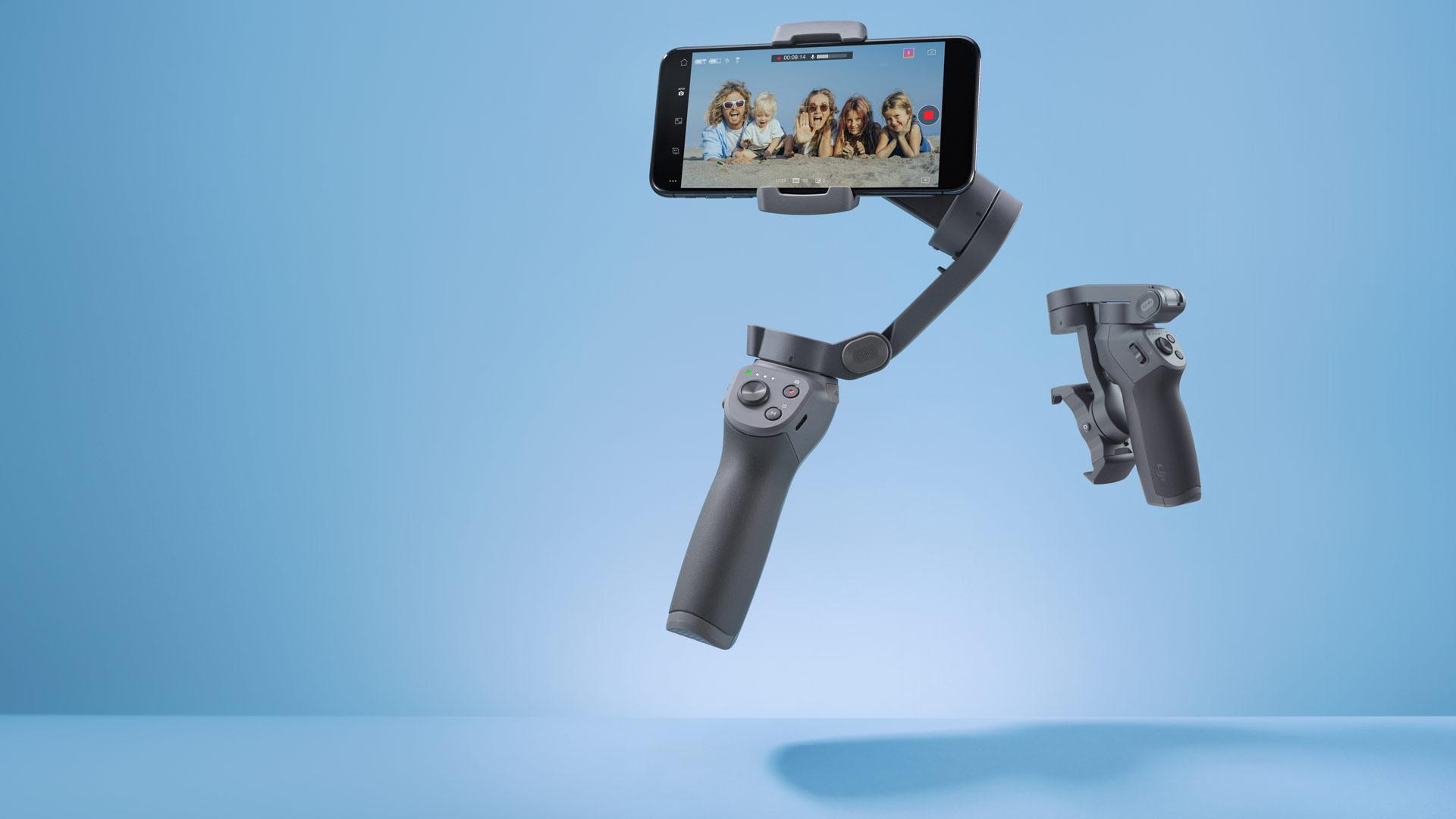 [1万円台]動画撮影はスマホ!Osmo Mobile 3 を使えば映像が滑らかに
