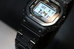 【フルメタル】初代G-SHOCKを継承する初のチタンモデルが最高にお洒落!GMW-B5000TB
