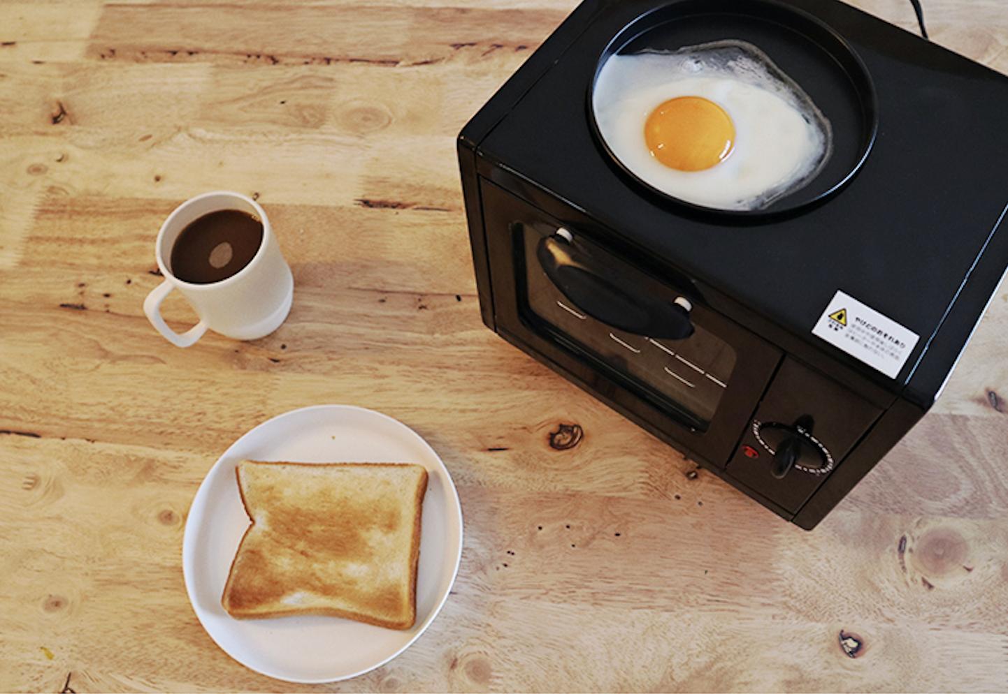 トースターで目玉焼き!?「天空の城 ラピュタパン」が簡単に作れる話題商品の評判は?