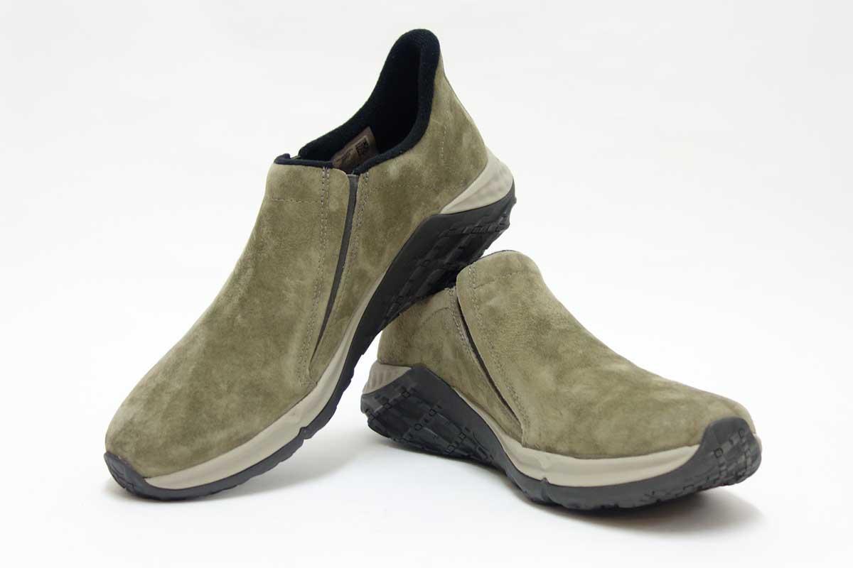 """【疲れない靴】履き心地最高。脱ぎ履き楽々""""ジャングルモック""""魅力"""