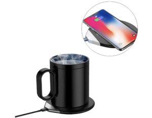 保温だけじゃない!スマホをワイヤレス充電できるカップウォーマー