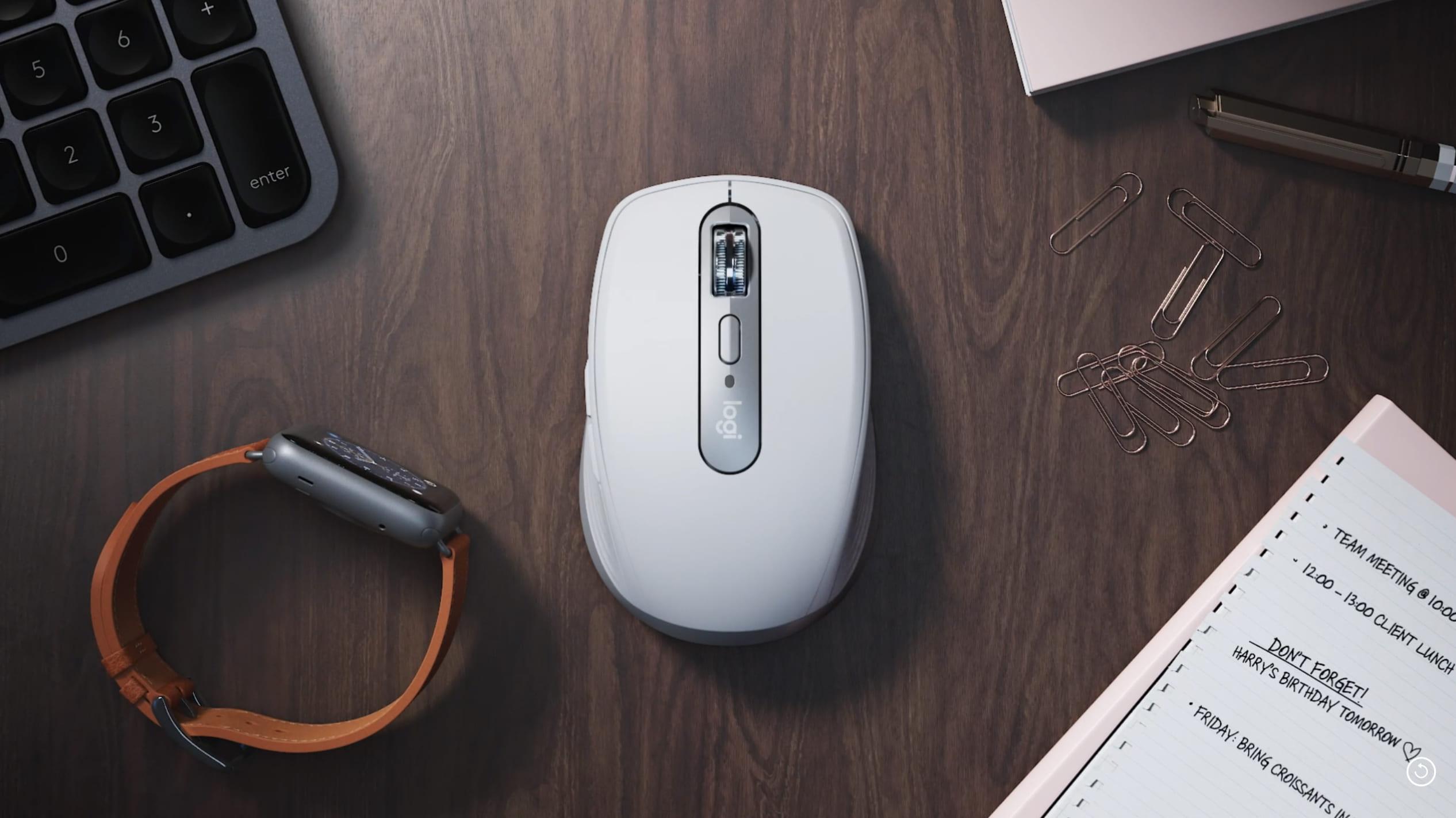 おすすめ小型マウスMx Anywhere 3!ボタンのカスタムで効率化!